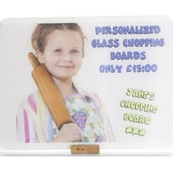 Personalised Printed Glass Chopping Board
