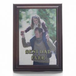 Personalised Printed Easel Plaque