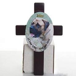 GIF041 Personalised Cross Plaque