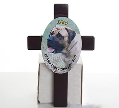 GIF041 Personalised Cross Plaque