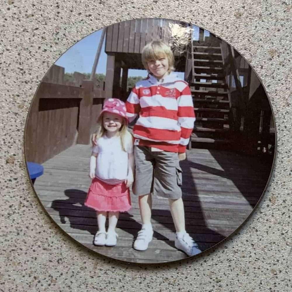 Personalised Round Coasters