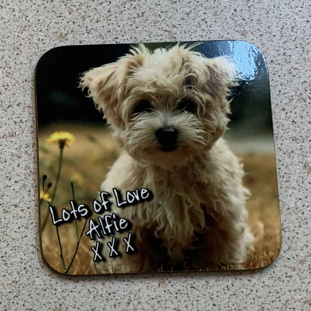 Personalised Square Coasters