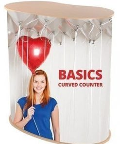 Basic Curved Counter