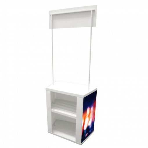 Counta Display Stand Rear