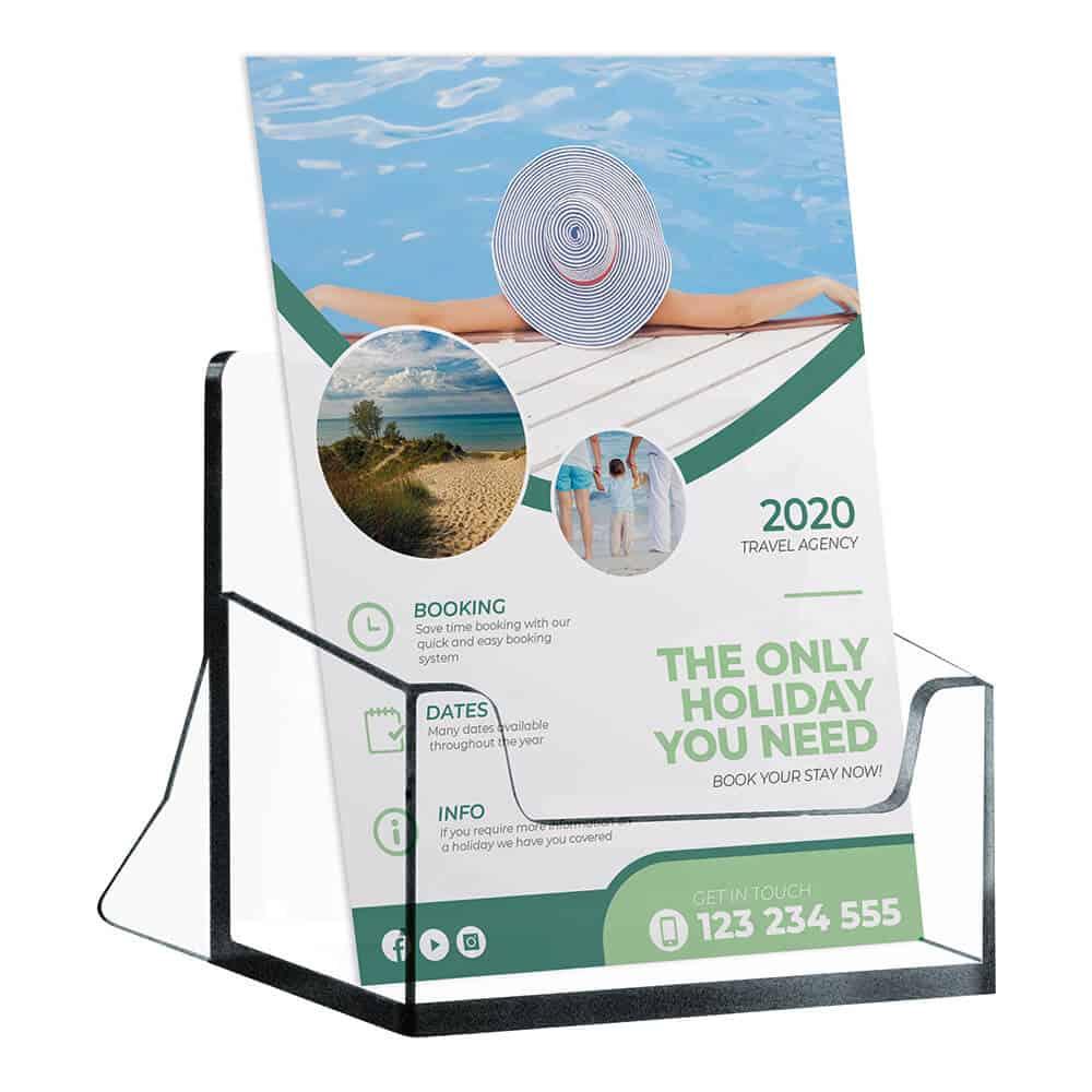 Desktop Leaflet Holder