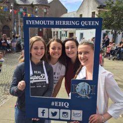 Eyemouth Herring Queen Selfie Frames