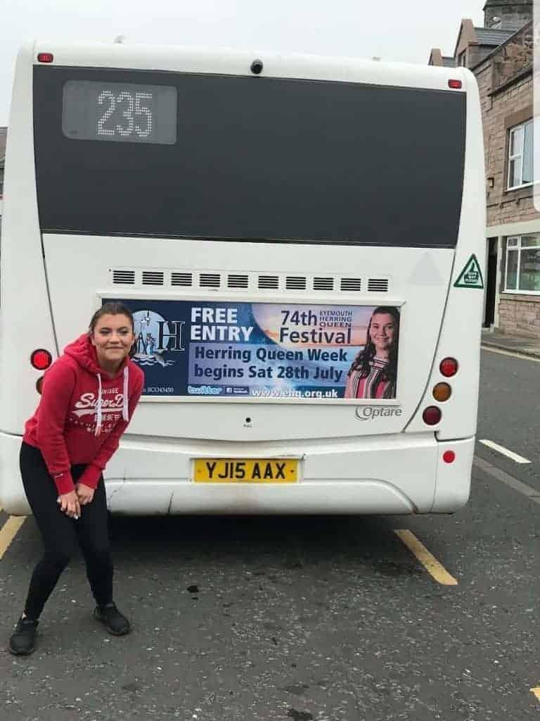 Bus Board Advertising Printed