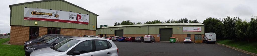 Fantasy Prints Unit situated at Ramparts Berwick-upon-Tweed
