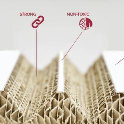 Xanita Honeycomb Board Features