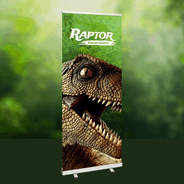Raptor Roller Banner Stand