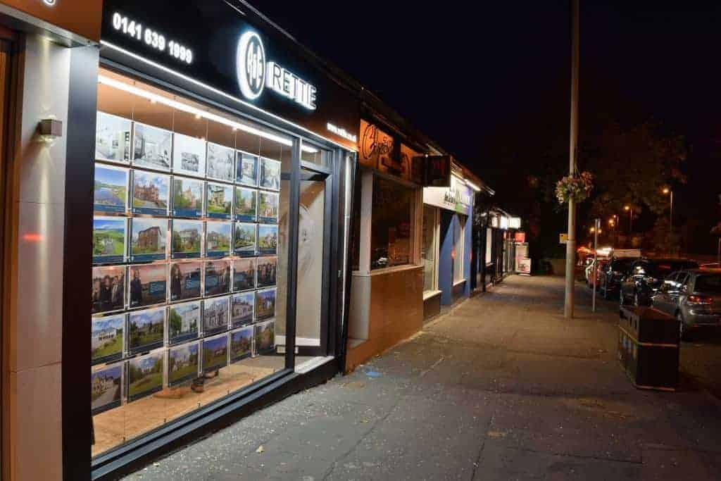Illuminated Shop Signage