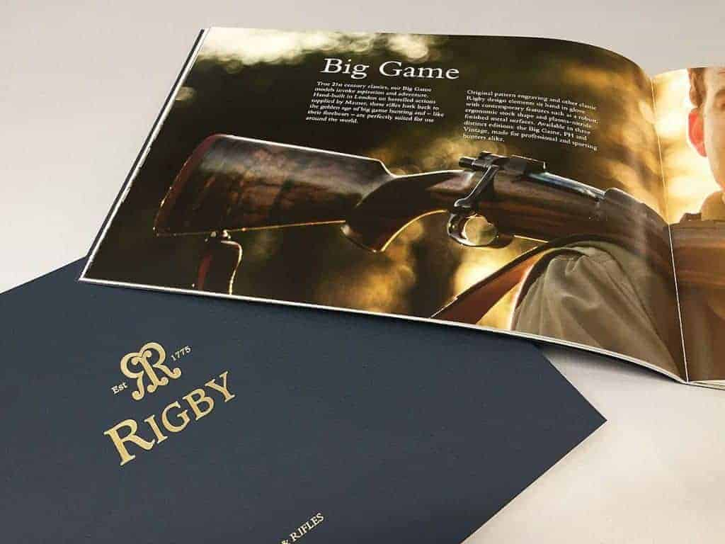 Rigby Product Booklet Printed by Fantasy Prints