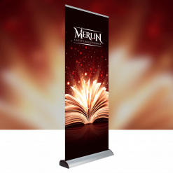 Merlin Cartridge Roller Banner