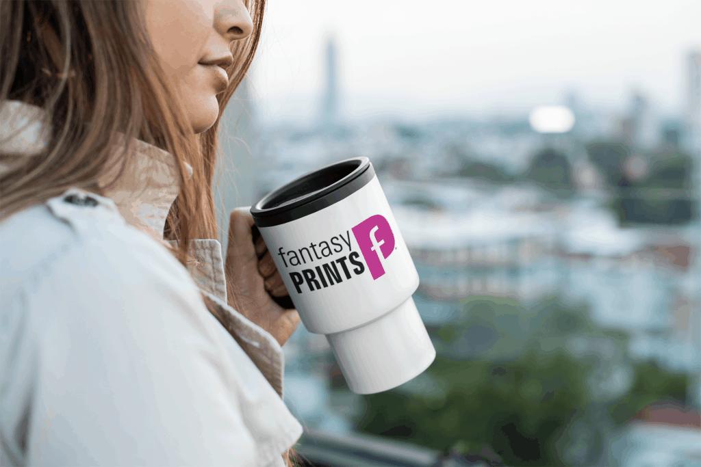 Personalised Printed Travel Mug