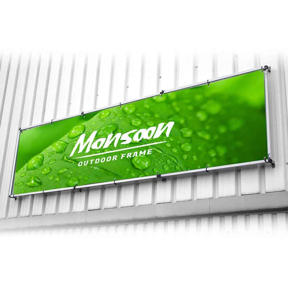 Wall Banner Stand
