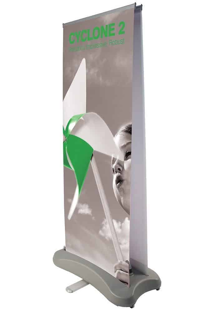 Cyclone 2 Outdoor Roller Banner Stand
