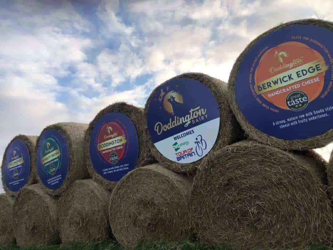 Doddington Cheese 1.2m Diameter Labels!