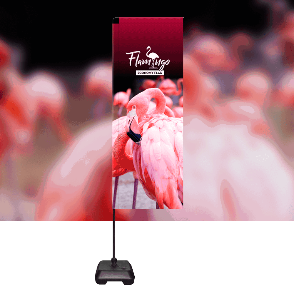 Flamingo Economy Flag