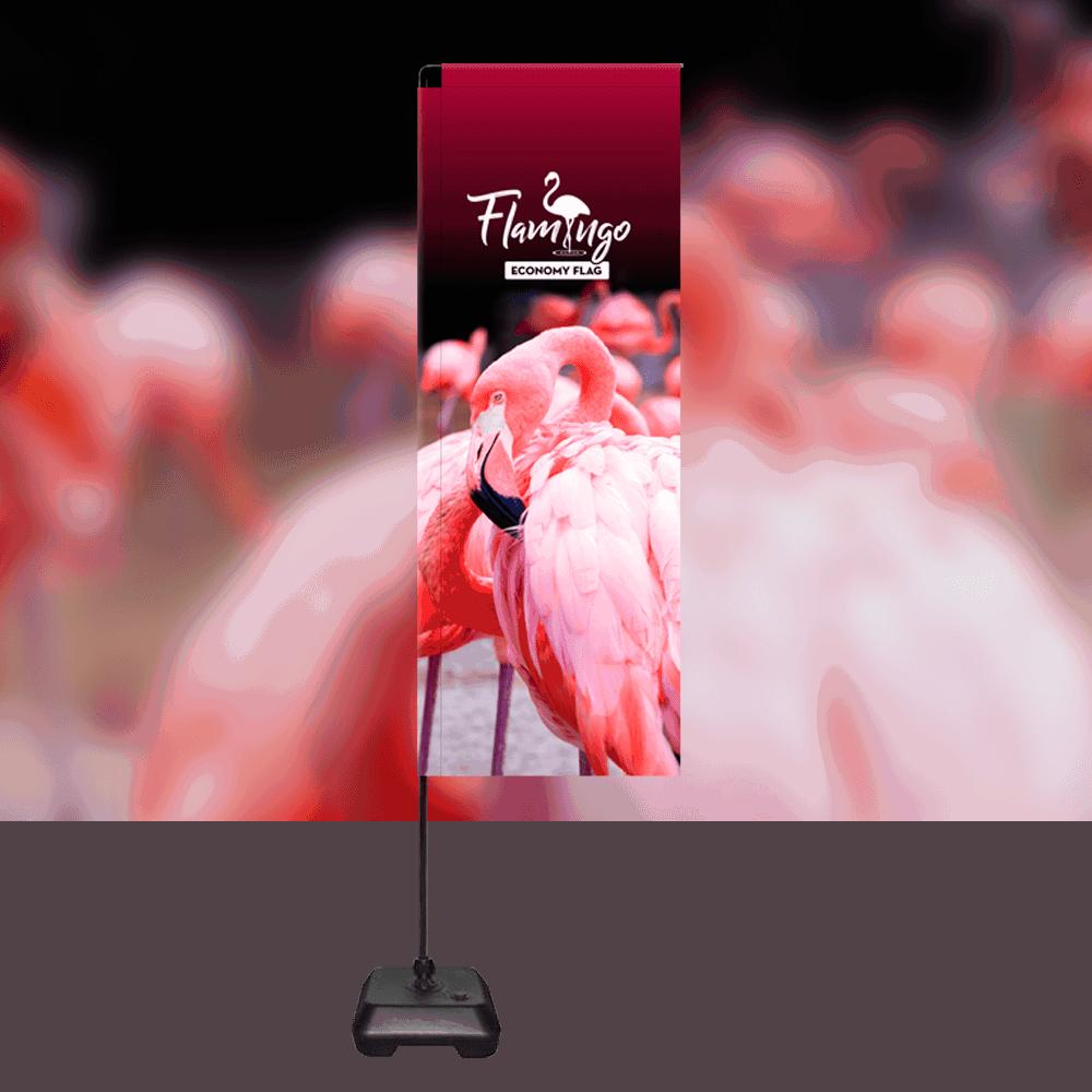Flamingo Economy Flag