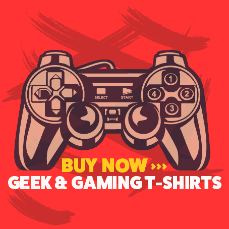 Geek & Gaming T-shirts