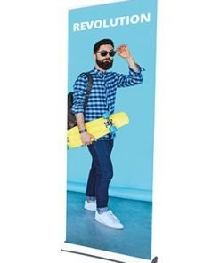 Revolution Roller Recycled Banner Stand