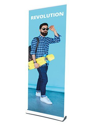 Revolution Recycled Roller Banner Stand