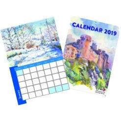 2021 Personalised A4 Single Page Calendar