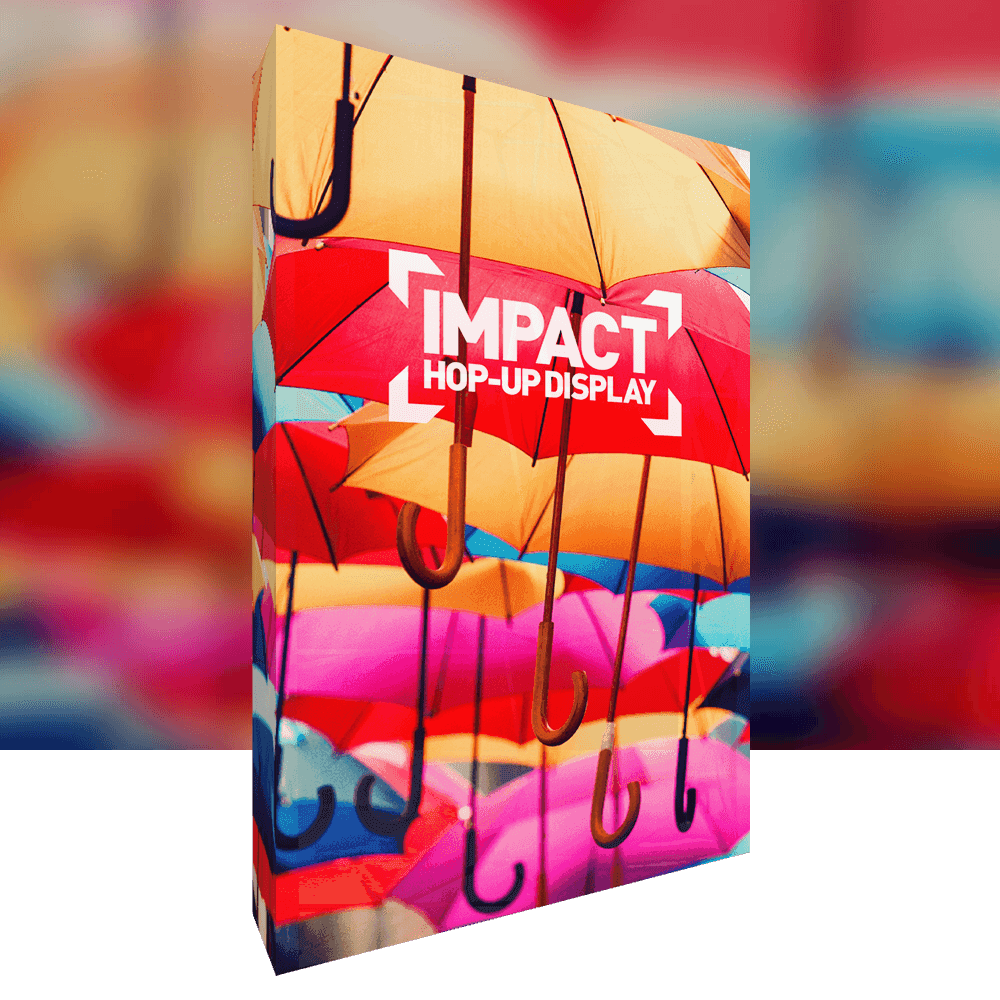 Impact Fabric Display Stand