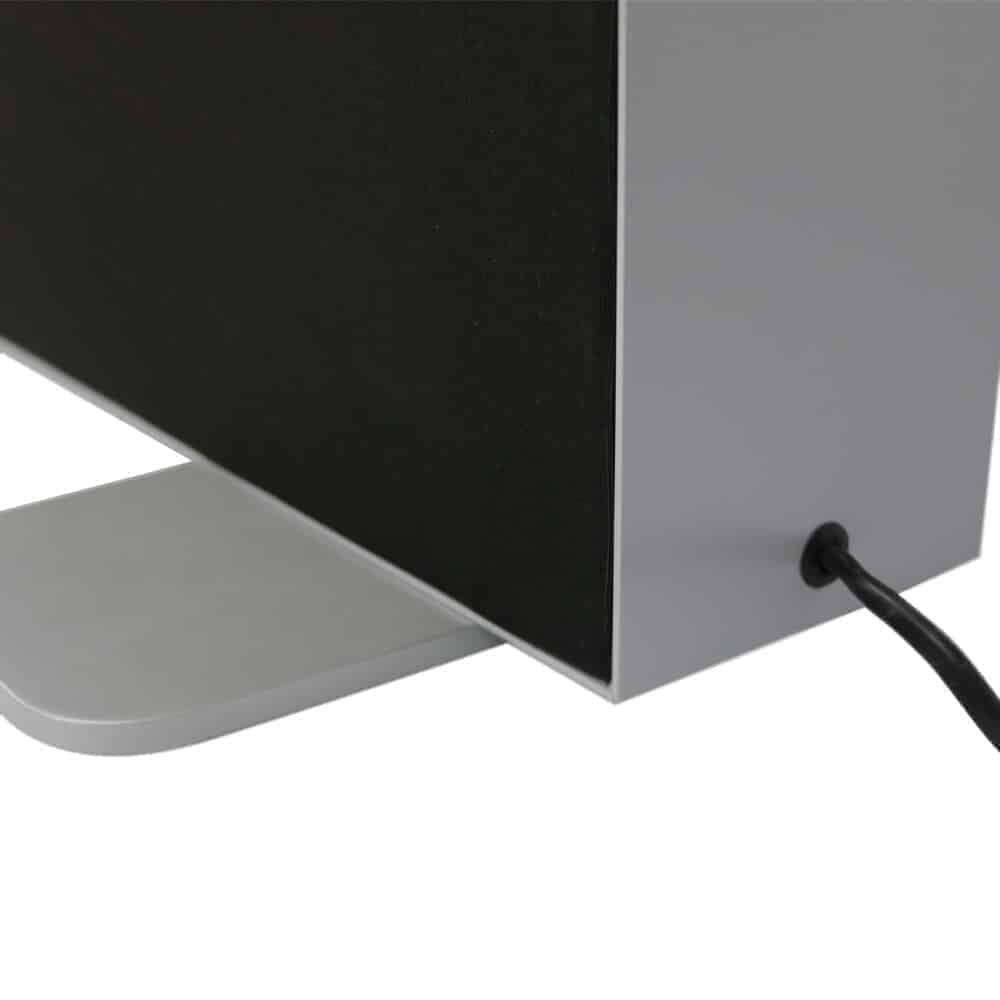 seg fabric free standing lightboxes premium detail foot and cable | Fantasy Prints