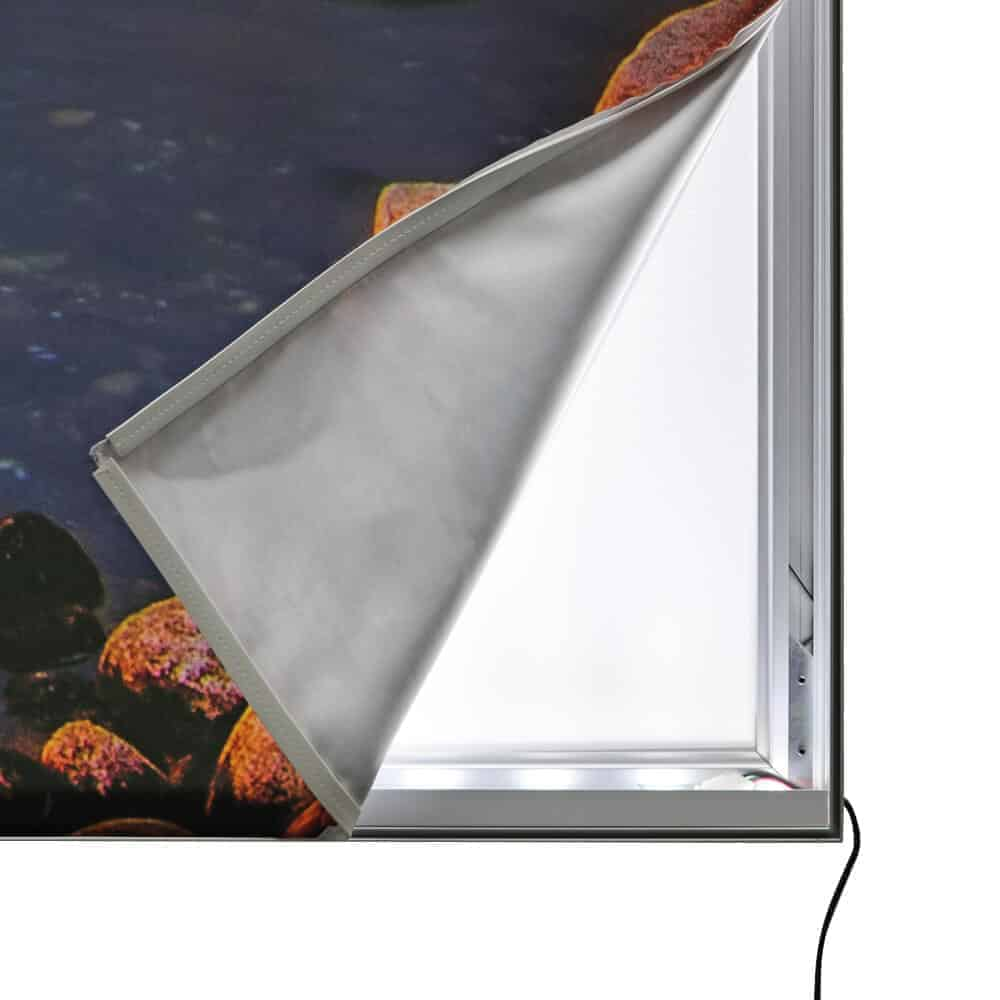 seg fabric wall mounted lightboxes premium detail graphic peeled | Fantasy Prints