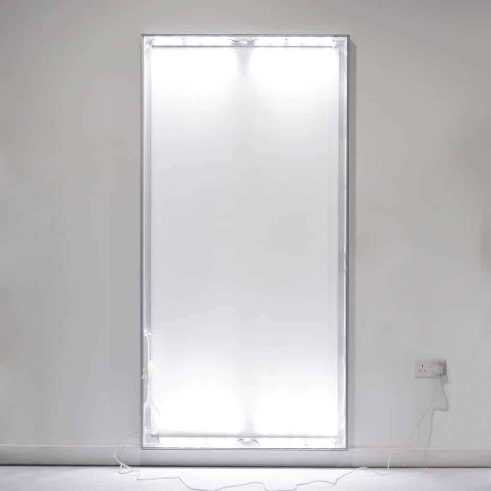 seg fabric wall mounted lightboxes standard detail wall lights on light room | Fantasy Prints