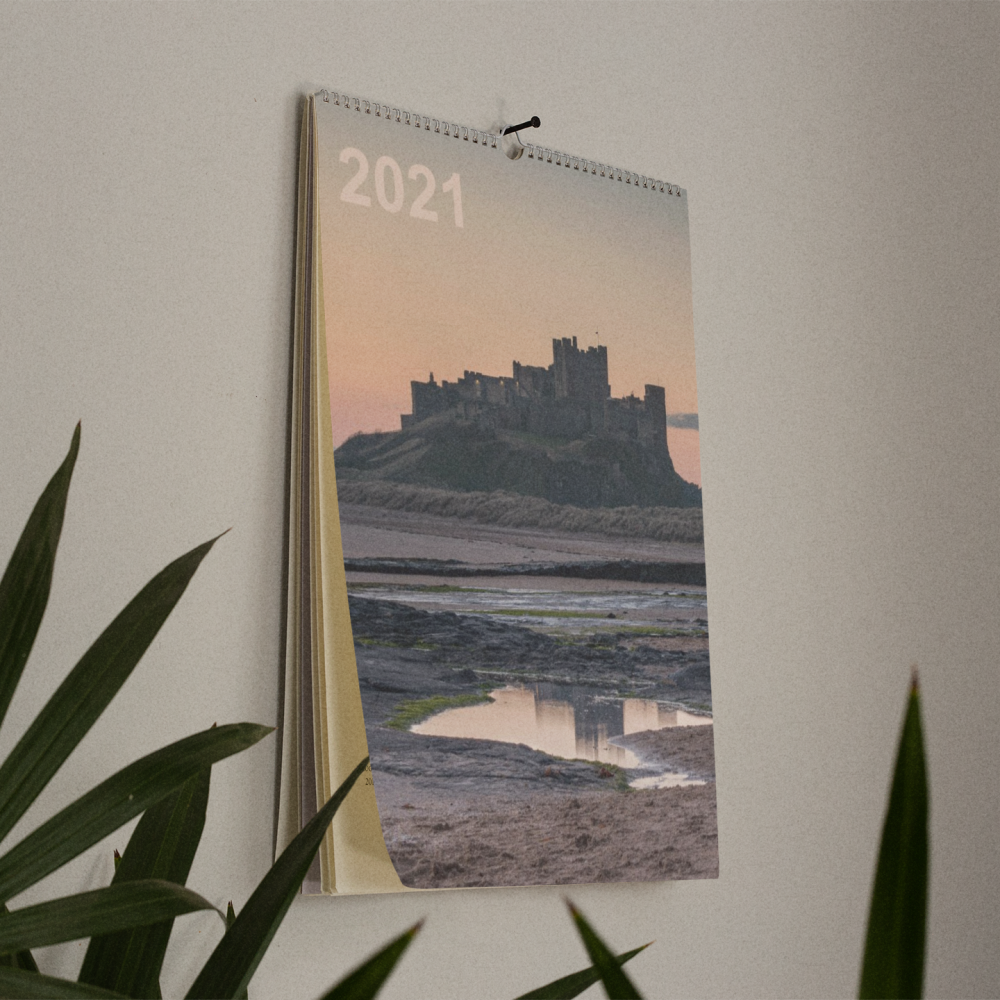 2021 Personalised A4 Photo Calendar