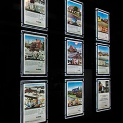 LED A4 Estate Agent Window System