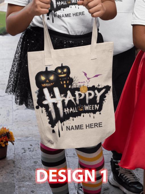 Design 1 - Happy Halloween BLACK