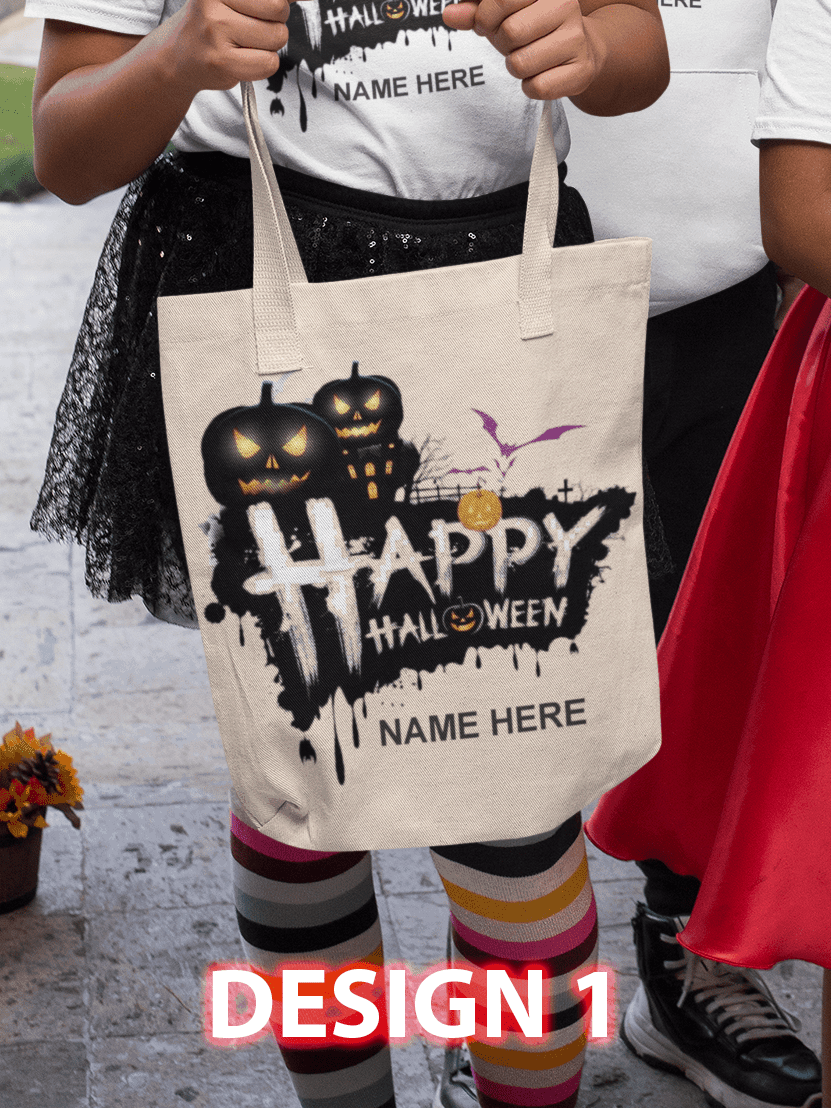 Design 1 - Happy Halloween BLACK