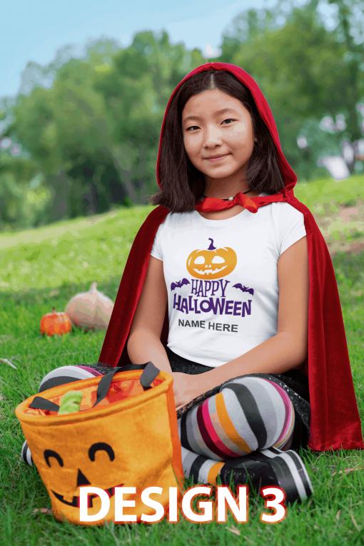 Design 3 - Happy Halloween ORANGE