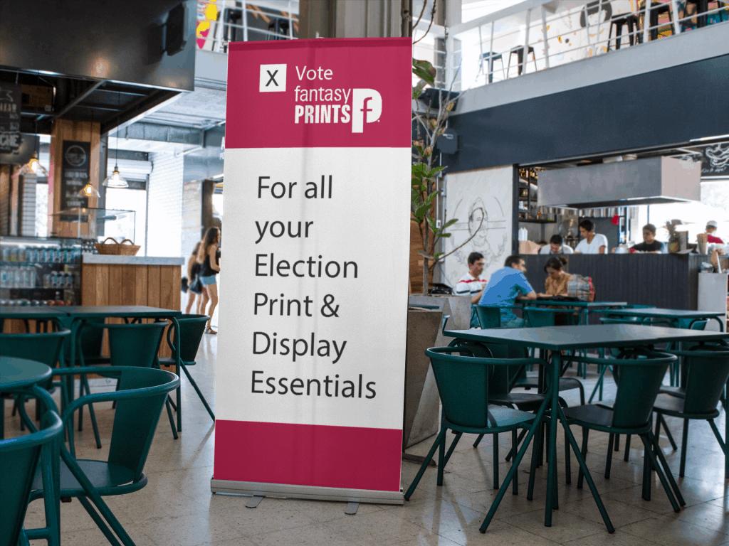 Banner Stands Indoor