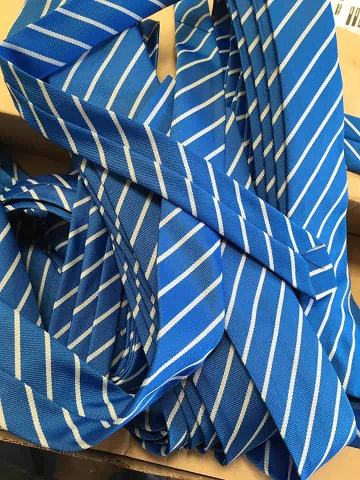 Eyemouth High School Ties Supplied by Fantasy Prints