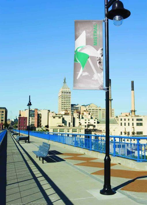 Mistral Lamp Post Banner System