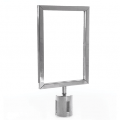 A4 Portrait Holder Top Push Fit