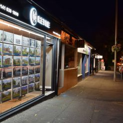 Estage Agent Window Display Systems