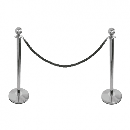 Rope Barrier System Ball Top