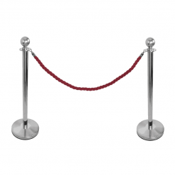 Red Rope Barrier System