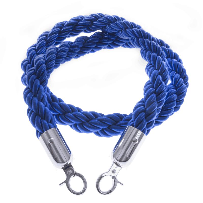 Blue Rope Barrier System