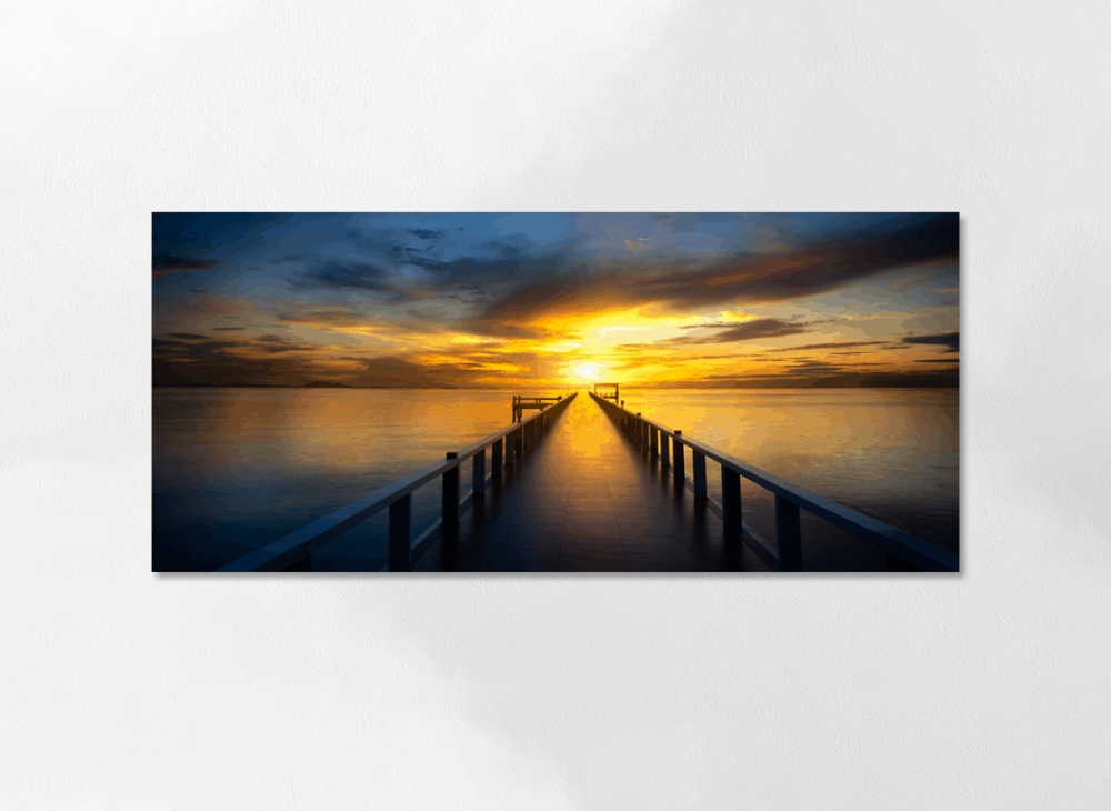 Panoramic Personal Canvas Print