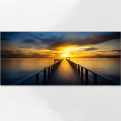Canvas Panoramic Personalised Prints on stretcher bars