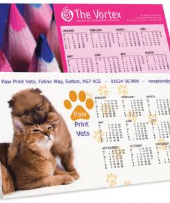 2020 Tent Calendars Personalised Printed