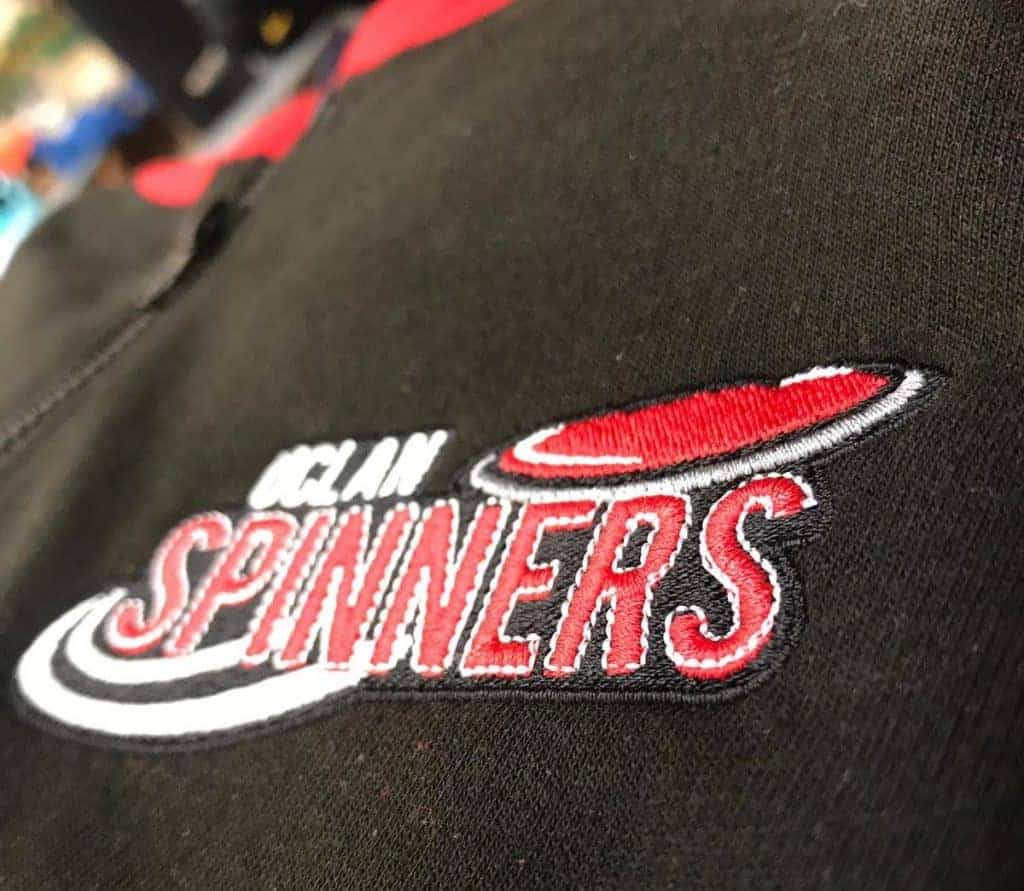 UCLAN Spinners Uniforms Embroidered by Fantasy Prints