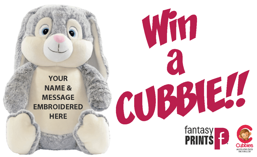 Win a Cubbie from Fantasy Prints