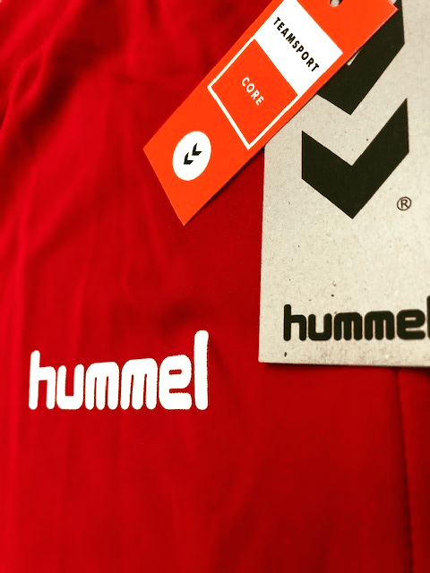 Wooler FC Hummel Football Strip